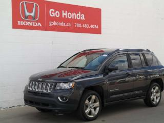 Used 2015 Jeep Compass LIMITED, 4WD, LEATHER for sale in Edmonton, AB