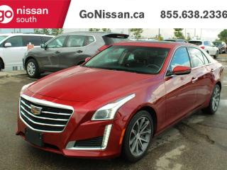 Used 2016 Cadillac CTS Sedan RIDE IN CLASS WITH NAVIGATION COOLING SEATS AND SUNROOF!! for sale in Edmonton, AB
