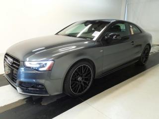 Used 2016 Audi A5 Technik S-Line / Quattro/Navi/RevCam/Blindspot for sale in BRAMPTON, ON