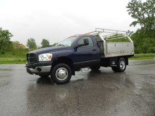 Used 2010 Dodge Ram 3500 4X4 SERVICE TRUCK WITH FLAT DECK & RACKS for sale in Brantford, ON