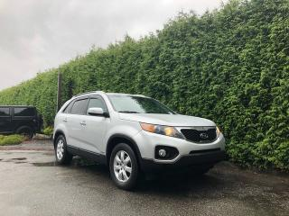 Used 2012 Kia Sorento LX 4dr AWD 4-Door + 7 PASSENGER + HEATED FRONT SEATS + REAR PARK ASSIST + BLUETOOTH + NO EXTRA DEALER FEES for sale in Surrey, BC