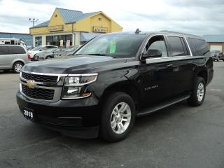 Used 2018 Chevrolet Suburban 1500 LS 4x4 5.3L 8Pass for sale in Brantford, ON