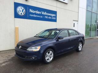 Used 2014 Volkswagen Jetta Sedan 2.0L TDI COMFORTLINE - SUNROOF / HEATED SEATS for sale in Edmonton, AB