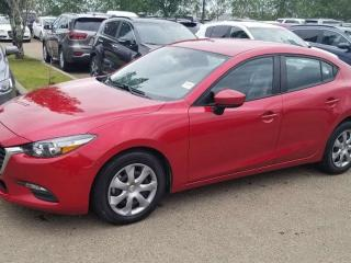 Used 2017 Mazda MAZDA3 GX; BLUETOOTH, BACKUP CAM, A/C AND MORE for sale in Edmonton, AB