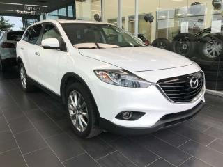 Used 2014 Mazda CX-9 GT, POWER HEATED LEATHER SEATS, SUNROOF, NAVI for sale in Edmonton, AB