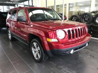 Used 2016 Jeep Patriot HIGH ALTITUDE, POWER HEATED LEATHER SEATS, SUNROOF, SIRIUS XM for sale in Edmonton, AB