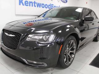Used 2015 Chrysler 300 S RWD with NAV, sunroof, heated power leather seats, back up cam for sale in Edmonton, AB