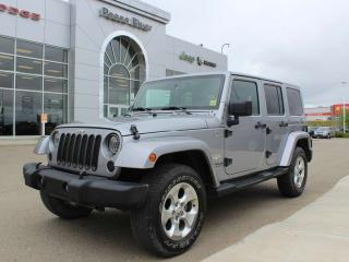 Used 2014 Jeep Wrangler Unlimited SAHA for sale in Peace River, AB