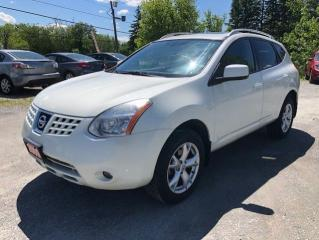 Used 2009 Nissan Rogue SL POWER SUNROOF PADDLE SHIFTER AWD for sale in Stouffville, ON