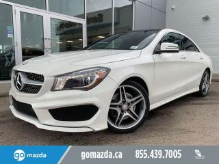 Used 2014 Mercedes-Benz CLA-Class CLA 250 4 MATIC LEATHER SUNROOF GREAT EYEBALL for sale in Edmonton, AB