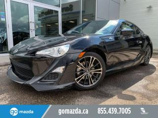 Used 2013 Scion FR-S MANUAL 1 OWNER ACCIDENT FREE LOW KMs for sale in Edmonton, AB