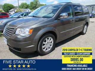 Used 2010 Chrysler Town & Country Touring *Clean Carproof* Certified w/ Warranty for sale in Brantford, ON