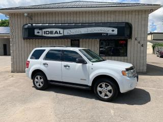 Used 2008 Ford Escape XLT for sale in Mount Brydges, ON
