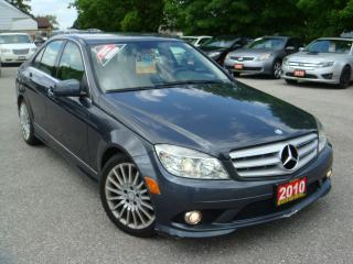 Used 2010 Mercedes-Benz C-Class C 250 Heated Leather Seats for sale in Ajax, ON