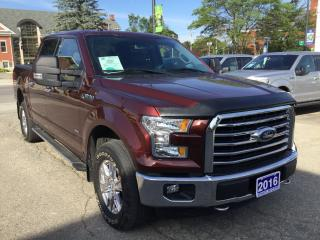Used 2016 Ford F-150 XLT | 4X4 | ONE OWNER | BLUETOOTH for sale in Harriston, ON