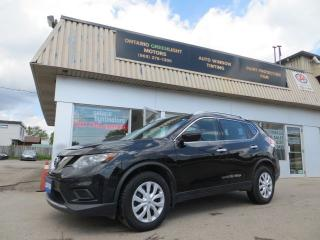 Used 2016 Nissan Rogue 4 WHEEL DRIVE,BACK UP CAMERA,BLUETOOTH for sale in Mississauga, ON