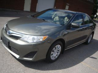 Used 2012 Toyota Camry LE,hybrid,accident free for sale in Mississauga, ON