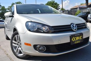 Used 2011 Volkswagen Golf Wagon HIGHLINE - NO ACCIDENT - ONTARIO CAR - NAVIGATION for sale in Oakville, ON