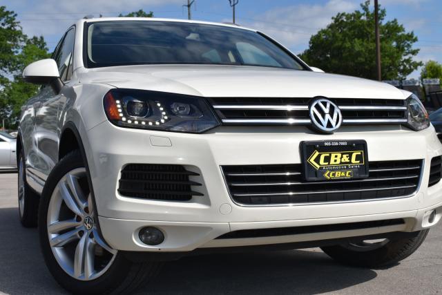 2011 Volkswagen Touareg EXECLINE - LEATHER - NAV