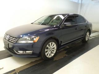 Used 2013 Volkswagen Passat HIGHLINE - TDI - SUNROOF -NAVIGATION for sale in Oakville, ON