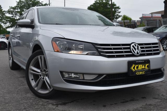 2013 Volkswagen Passat HIGHLINE - TDI - NAVIGATION - NO ACCIDENTS