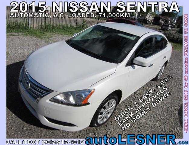 2015 Nissan Sentra -SOLD!