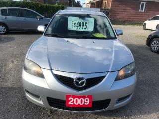 Used 2009 Mazda MAZDA3 GS for sale in Hamilton, ON