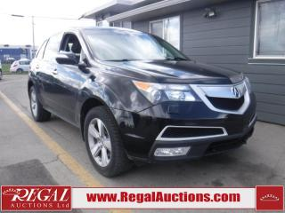 Used 2011 Acura MDX 4D Utility AWD for sale in Calgary, AB