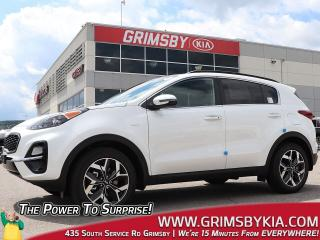 New 2020 Kia Sportage EX Tech| Pano Roof| Leather| Heat & Vent Seats for sale in Grimsby, ON