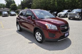 Used 2013 Chevrolet Trax LT AWD | Bluetooth for sale in Listowel, ON