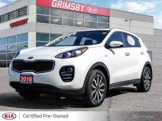 Used 2018 Kia Sportage EX for sale in Grimsby, ON
