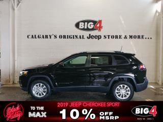 New 2019 Jeep Cherokee SPORT 4X4 for sale in Calgary, AB