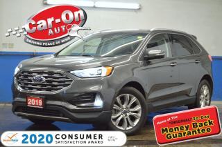 Used 2019 Ford Edge Titanium AWD LEATHER REAR CAM HTD SEATS NAV READY for sale in Ottawa, ON