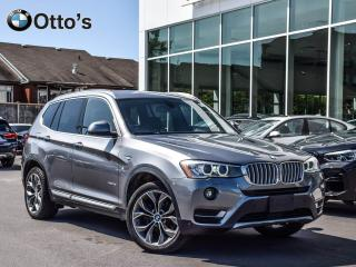 Used 2015 BMW X3 xDrive28i PANO ROOF, PARK DISTANCE for sale in Ottawa, ON