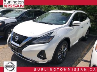 New 2019 Nissan Murano Platinum for sale in Burlington, ON