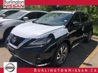 New 2019 Nissan Murano SL for sale in Burlington, ON
