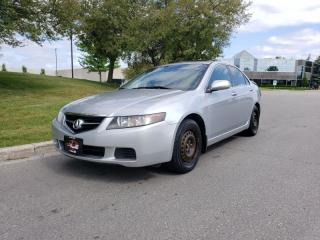 Used 2005 Acura TSX 4dr Sdn 6 Speed | 1 Owner | OEM Acura Wheels Incl. for sale in Vaughan, ON