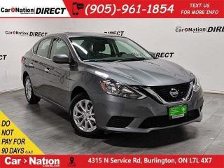 Used 2019 Nissan Sentra 1.8 SV| SUNROOF| APPLE CARPLAY & ANDROID| for sale in Burlington, ON