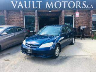 Used 2005 Honda Civic 4dr SE NO ACCIDENTS for sale in Brampton, ON
