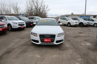 Used 2011 Audi A4 4dr Sdn Auto quattro 2.0T for sale in Mississauga, ON