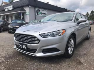 Used 2015 Ford Fusion S for sale in Bloomingdale, ON