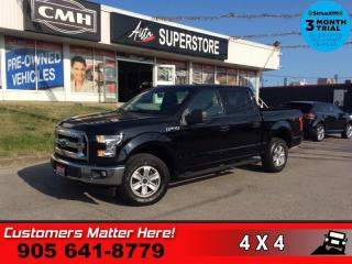 Used 2017 Ford F-150 XLT  CREW CAB 4X4 KEYLESS-PAD TOW ALLOYS for sale in St. Catharines, ON