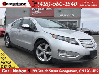 Used 2013 Chevrolet Volt LEATHER | HTD SEATS | ALLOYS | PLUG IN HYBRID for sale in Georgetown, ON