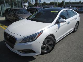 Used 2016 Hyundai Sonata Hybride Limited NAVIGATION,CUIR,TOIT PANO+ for sale in Blainville, QC