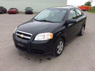 Used 2009 Chevrolet Aveo Berline LS 4 portes for sale in Quebec, QC