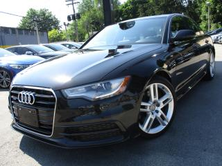 Used 2014 Audi A6 2.0T S-LINE QTRO PROGRESSIV|ONE OWNER|45,000KM for sale in Burlington, ON