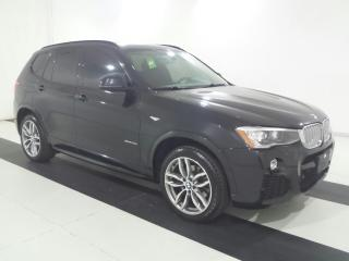 Used 2015 BMW X3 28I XDRIVE|M-SPORT PKG|NAVIGATION|PANO ROOF !!! for sale in Burlington, ON