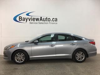 Used 2015 Hyundai Sonata GL - AUTO! BLUETOOTH! REVERSE CAMERA! PWR GROUP! for sale in Belleville, ON