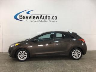 Used 2016 Hyundai Elantra GT L - 6SPD! A/C! PWR GROUP! for sale in Belleville, ON