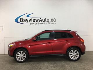 Used 2015 Mitsubishi RVR SE Limited Edition - AWD! HTD SEATS! BLUETOOTH! PADDLE SHIFTERS! PWR GROUP! for sale in Belleville, ON